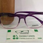 Ladies Purple Glasses Frames