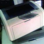 Used HP 1020 Laserjet Monochrome Printer