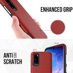 Samsung note 8 / note 20 triangle texture design case