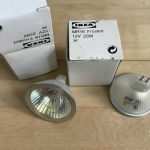 Ikea mr16 12V 20W halogen bulb