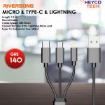 Riversong Micro&TYPE-C LIGHTNING