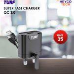 TURF SUPER FAST CHARGER QC 3.0