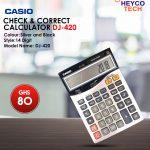 Casio Check & Correct Calculator DJ-120