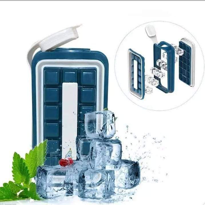 Silicon Ice Cubes Mould