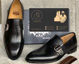 mens buckle shoe