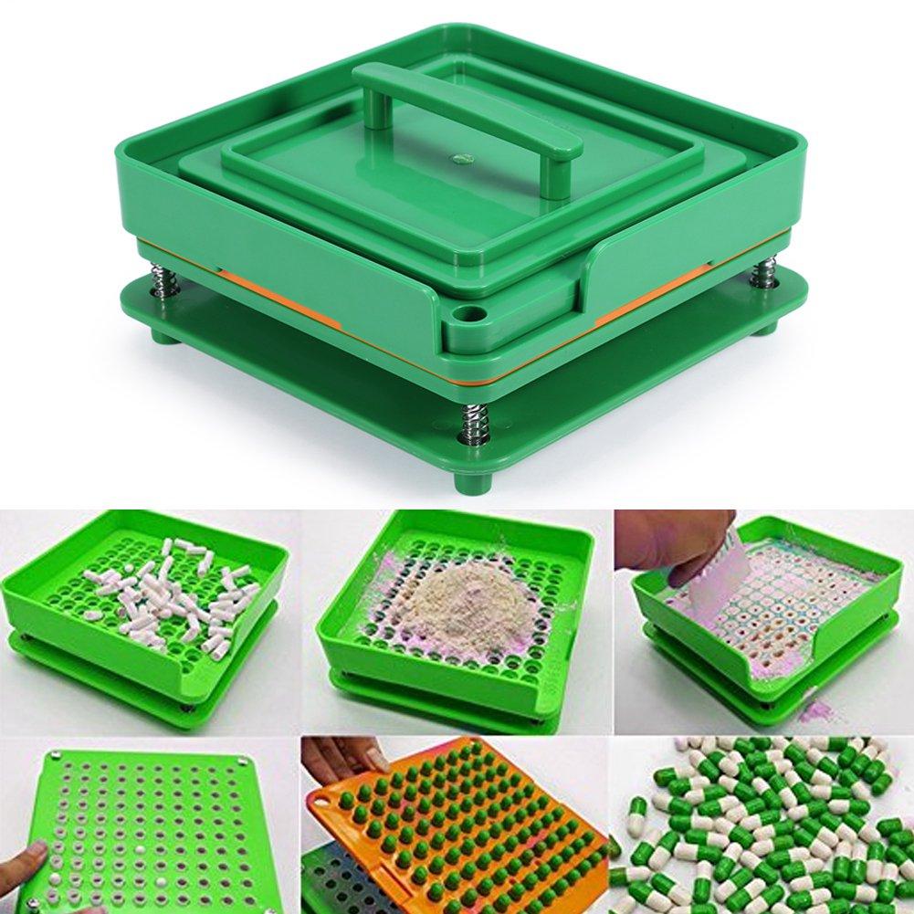 100 holes capsules Filling Machine