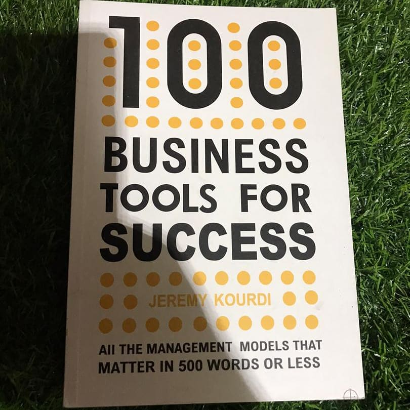 100 Business Tools For Success Book