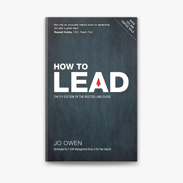 How To Lead Book