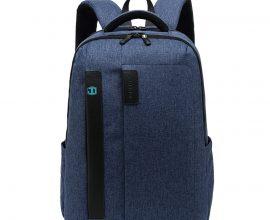 blue laptop bag