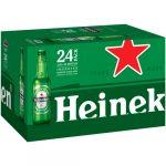 Heineken Premium Lager Beer 24 Bottles