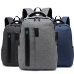 Jodebes JD0032 Multifunctional Backpack – 21L Gray