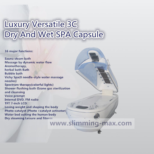 3 in 1 Dry And Wet Spa Capsules Machine