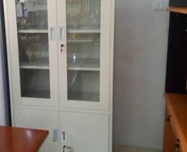 glass file cabinet
