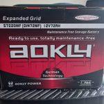 Aokly 15 Plates Car Battery 57220