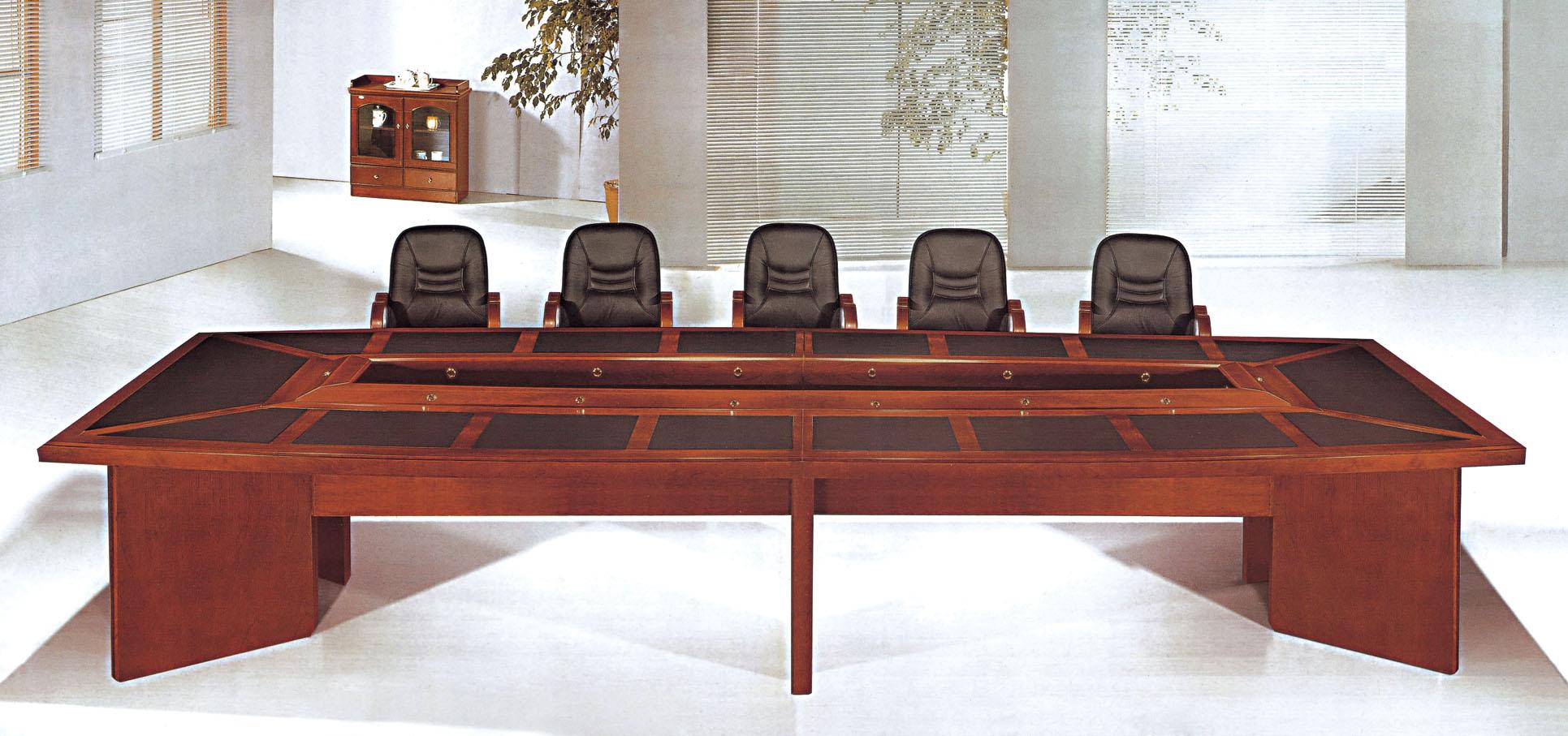 Wooden Conference Desk