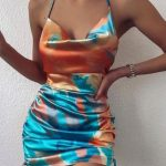 Multicoloured Party Dress
