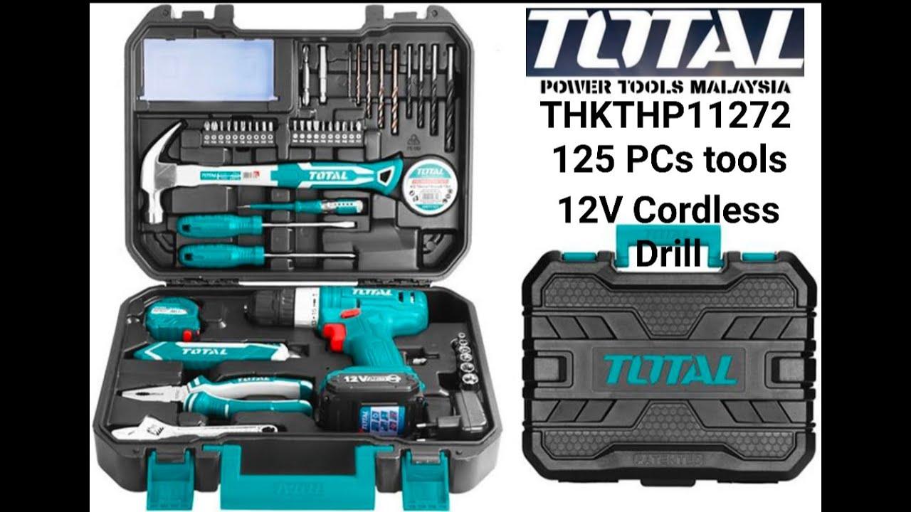 125pcs+12v Drill Total Brand