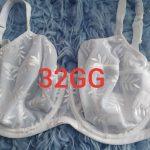 White 32GG Brassiere