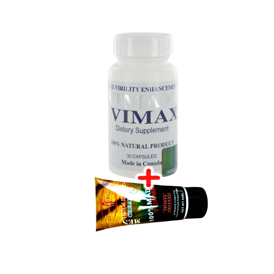 Vimax Penis Enlargement Pills And Cream