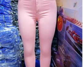 pink womens jeans