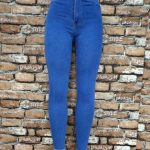 Light Blue High Waist Jeans