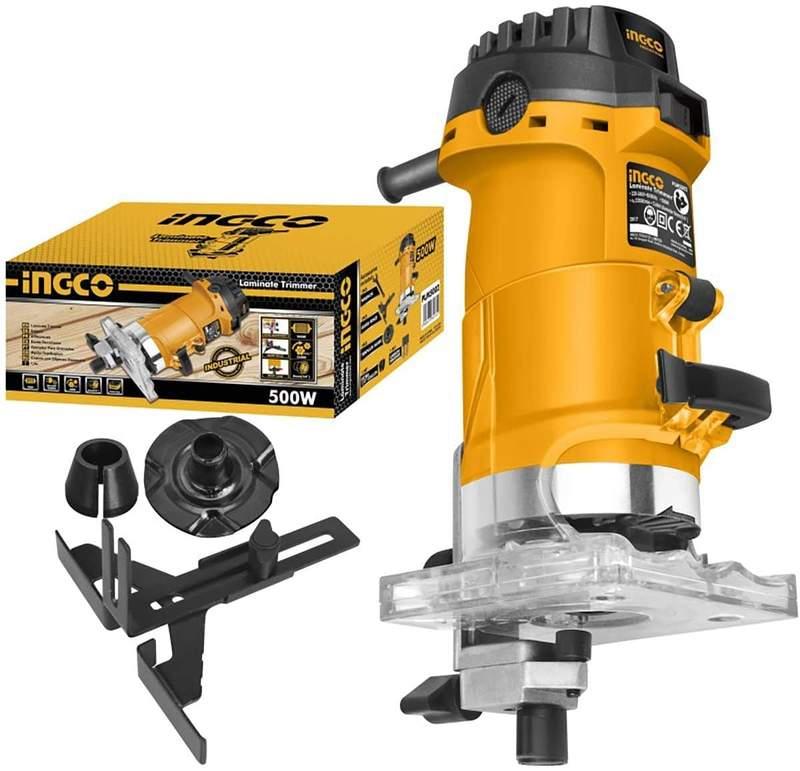 Laminate Trimmer Voltage:220-240V~50/60HzInput power:500W ingco brand