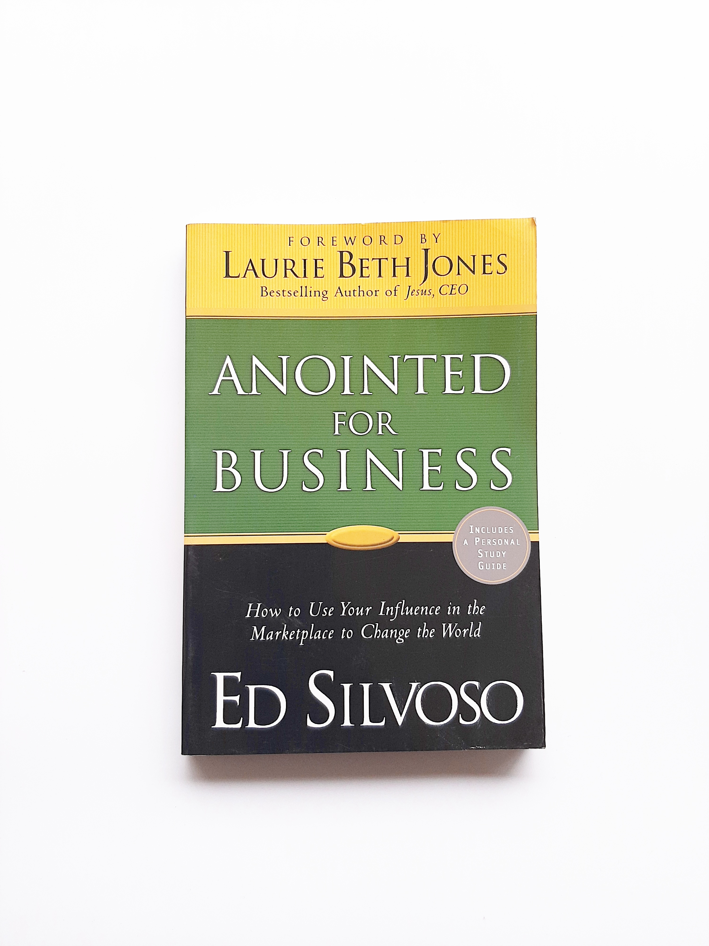 Anointed for Business Book