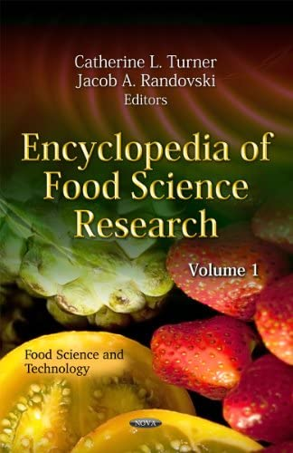 Encyclopedia of Food Science Research, vol 1-3