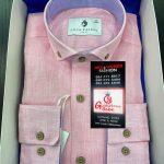 Luca Faloni Pink Mens Shirt