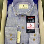 Luca Faloni Blue Mens Shirt