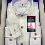 Grosvenor White Mens Shirt