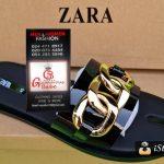 Black Zara Mens Slippers