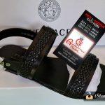 Versace Black Mens Sandals