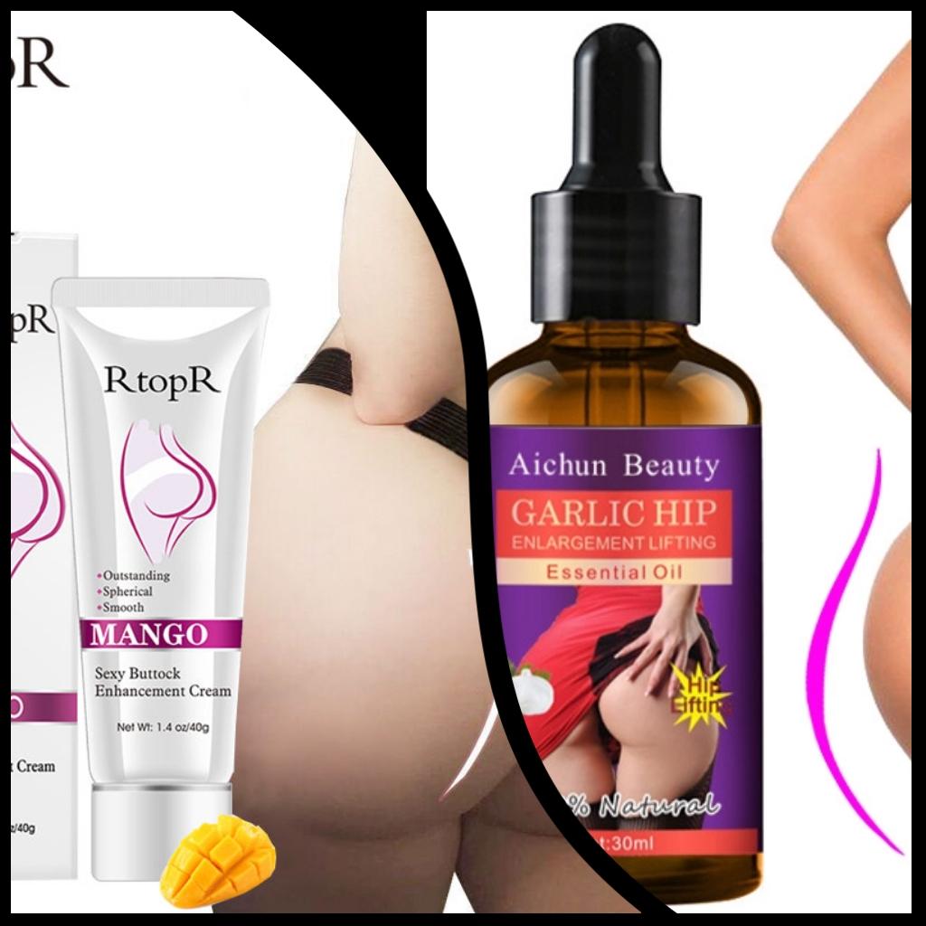 Buttocks And Hips enlargement Cream Plus Oil