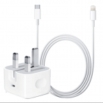 Apple USB-C to lightning 18W charger and cable