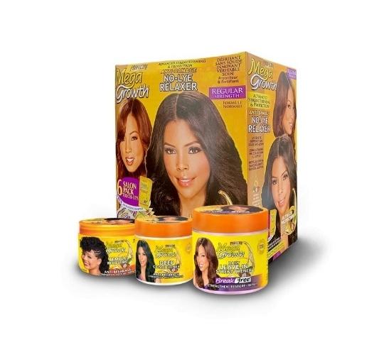 mega growth hair relaxer