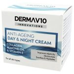 Derma V10 Innovations Anti Ageing Day And Night Cream