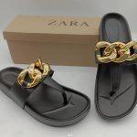 Zara Wedge Slippers