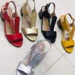Red Ladies High Heels