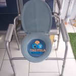 Adjustable Toilet Commode Chair/Seat ( Without Wheels )