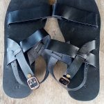 Black Traditional sandals