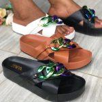 Zara Block Slippers