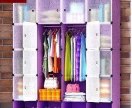 plastic wardrobe