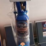 Oxygen Cylinder With Gauge, Humidifier, Oxygen And Mask ( 10Ltrs )