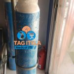 Oxygen Cylinder With Gauge, Humidifier, Oxygen And Mask (40Ltrs)
