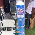 Oxygen Cylinder With Gauge, Humidifier, Oxygen And  Mask (50Ltrs)
