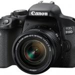 Canon EOS 800D Camera