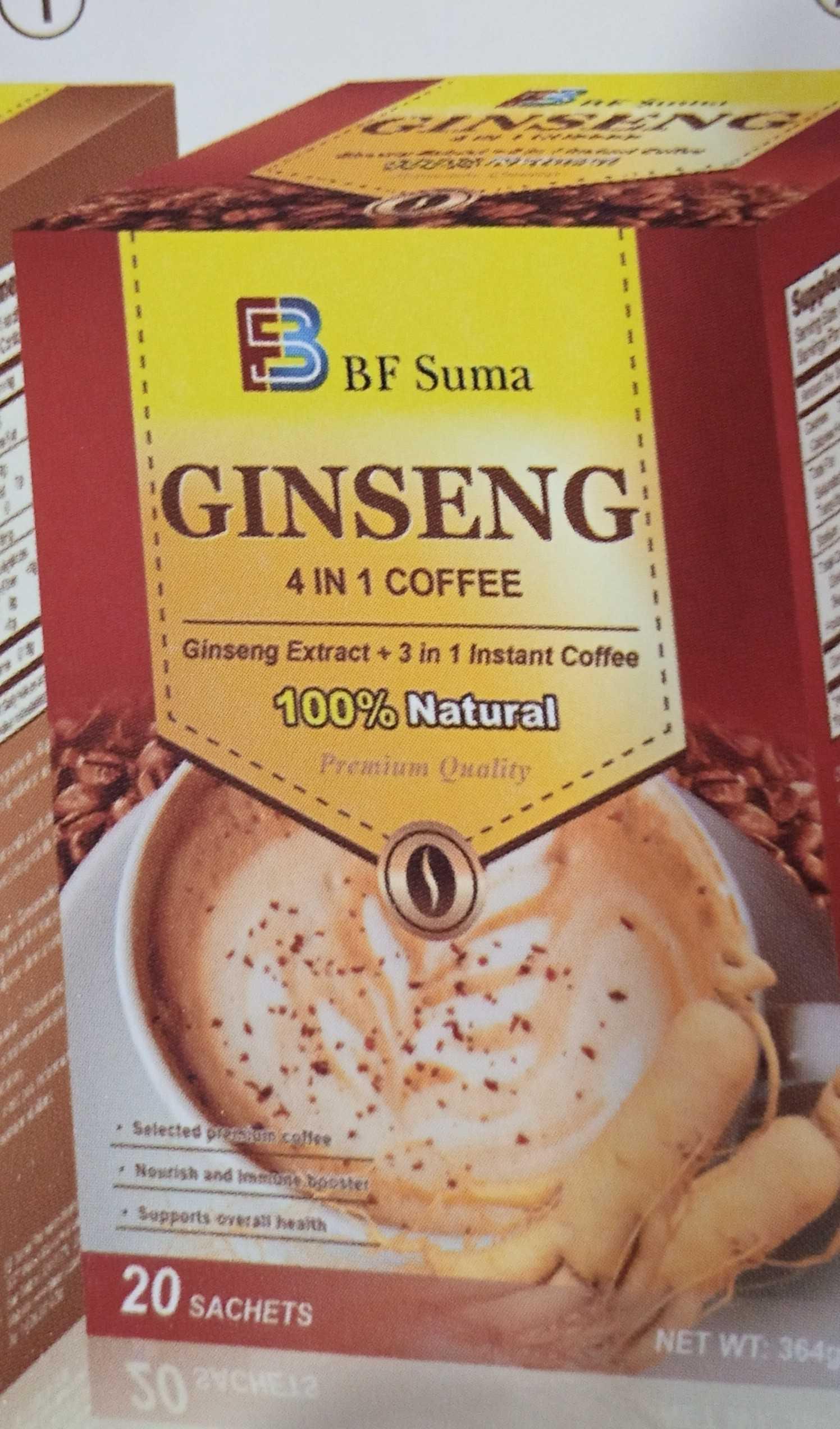 Bf suma 4 in 1 ginseng coffee