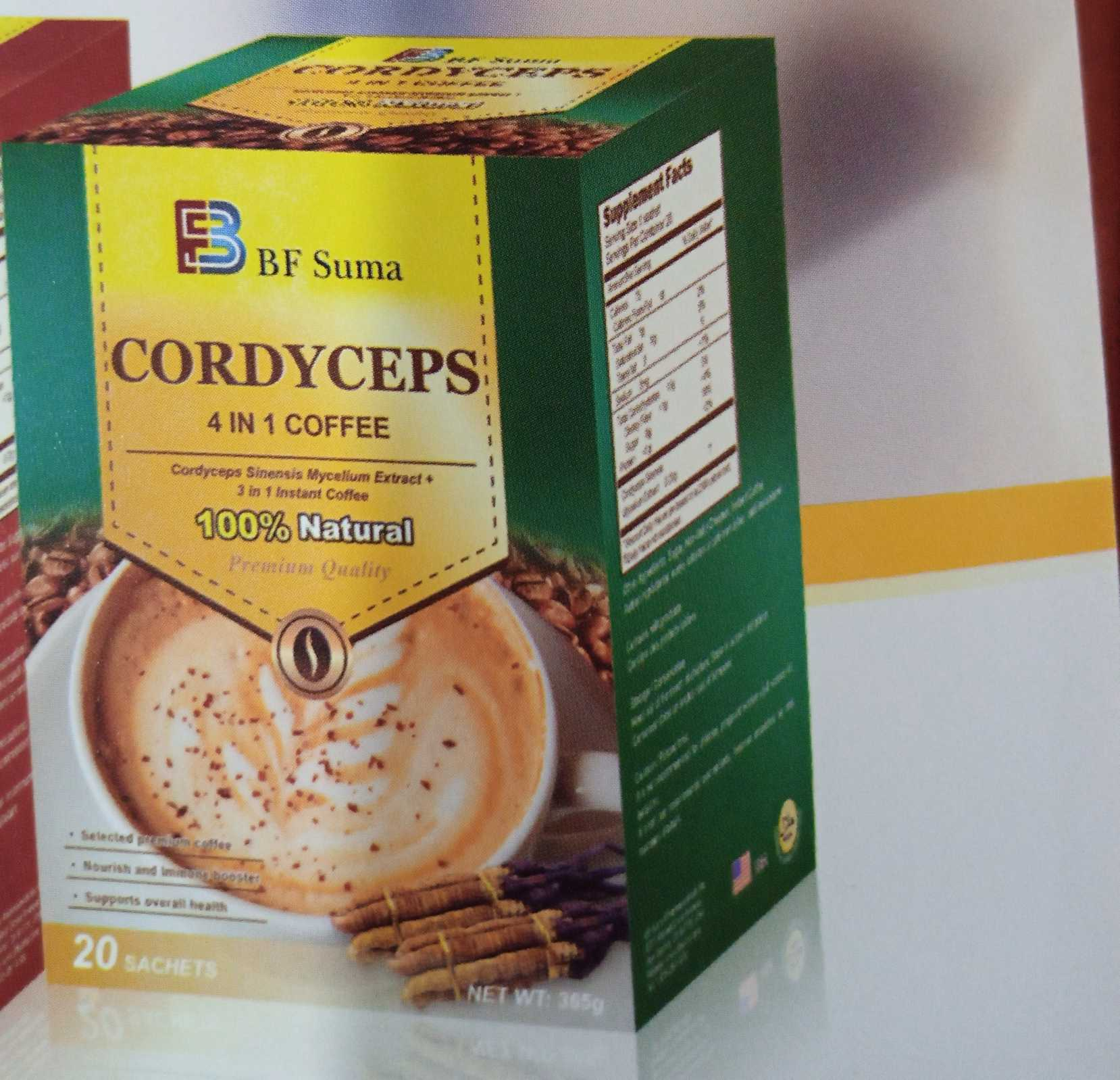 BF SUMA 4 in 1 CORDYCEPS COFFEE