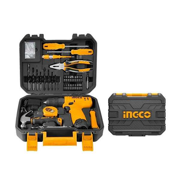 Ingco 18Pcs Tool Set 12V
